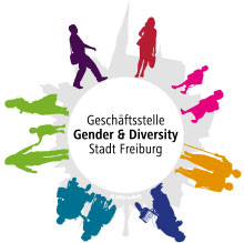 Logo der Geschäftsstelle Gender und Diversity Stadt Freiburg
